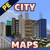 City Maps for Minecraft PE - Best Database Maps for Minecarft Pocket Edition
