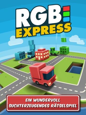 RGB Express - Das Mini-Lastwagenpuzzle Screenshot