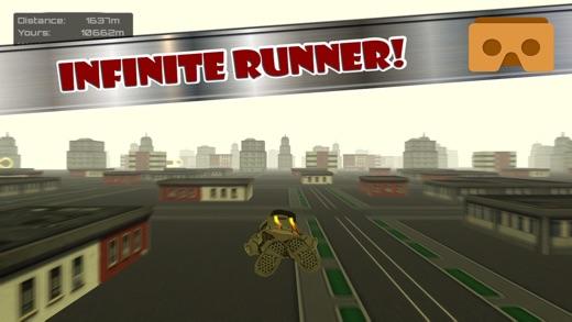 Speedy Courier: VR Runner Screenshot