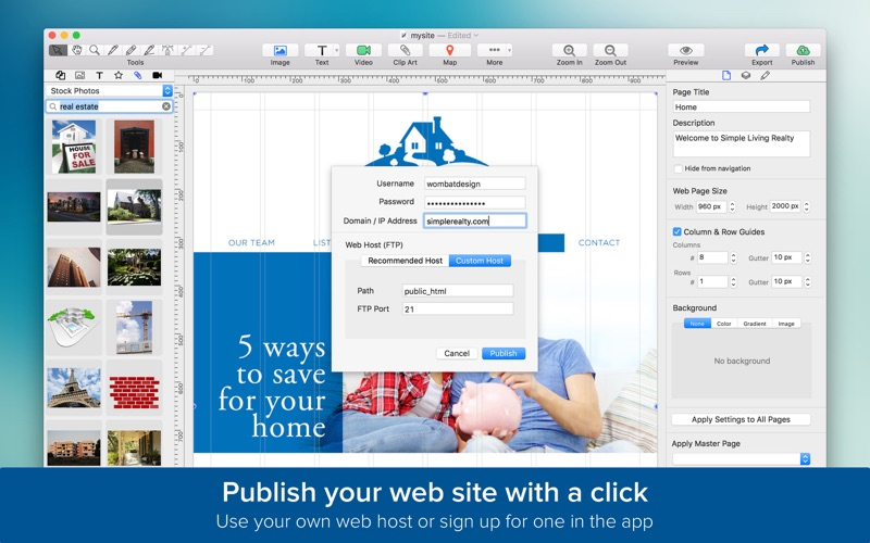 TurboWeb for Mac 1.1.9 注册版 - 网站设计工具