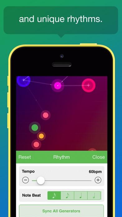 Screenshot do app NodeBeat - Playful Music for All