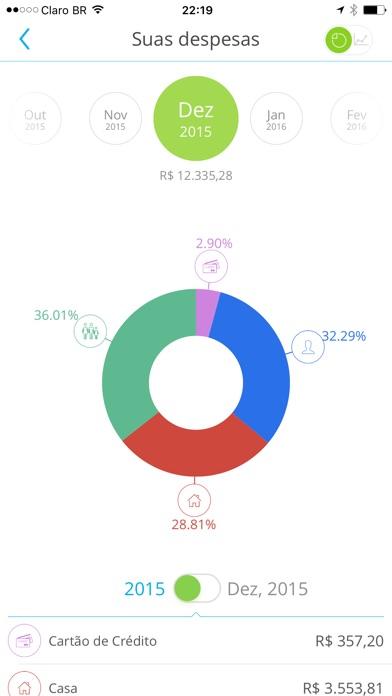 Screenshot do app papelada