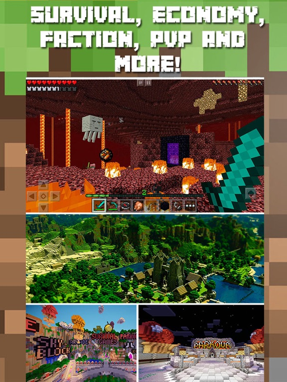 Lucky Block Minecraft Servers Pc