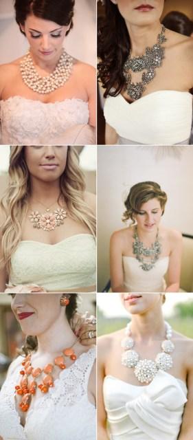 Statement Wedding Jewelry and Accessories