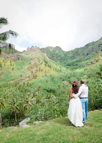 Destination Wedding in Moorea, French Polynesia