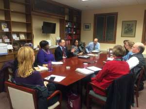Task Force meeting with KPS Superintendent Dr. Michael Rice
