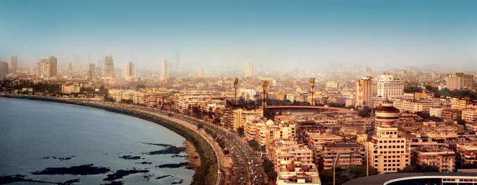 Mumbai Skyline Panorama View