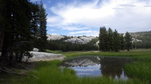 Tuolumne meadows in Yosemite, at the beginning of my two week journey from Yosemite to Tahoe along the Pacific Crest Trail.