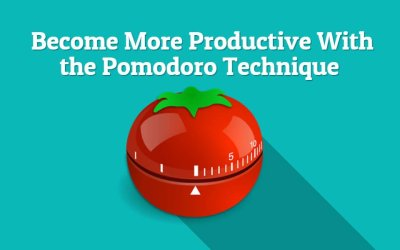 How to Become More Productive: The Pomodoro Technique