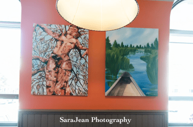 Local Artists Donate Paintings