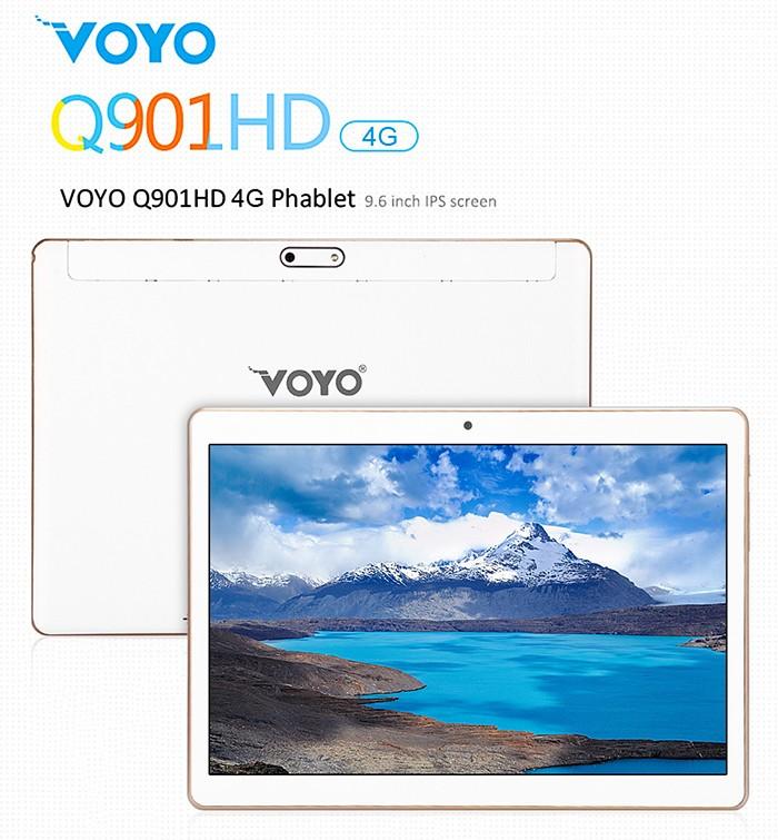 VOYO Q901HD 4G LTE – Phablet 9.6″