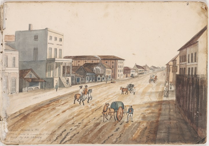 MISS Online: The Sydney Theatre and the Irish play in the 1830s