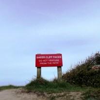 Sheer Cliff Face, Alum Bay