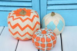 scotchblue-painted-pumpkins