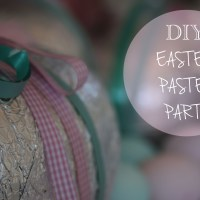 DIY Easter Pastel Party
