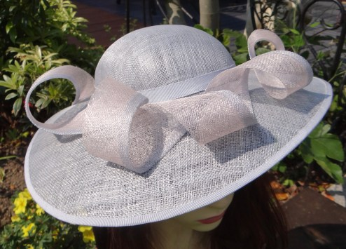 """I just want to say how delighted I am with my hat, it is absolutely beautiful- you are so very clever. I shall definitely be recommending you, thank you so very much!"" Mrs S.C June 2016 (Mother of the bride)"