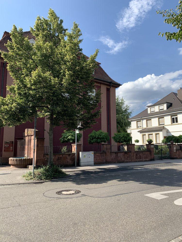 Alte Bank . Bruchsal . Schloss Bruchsal. Schlossgarten . IsabellaMueller . @Isabella_Muenchen .