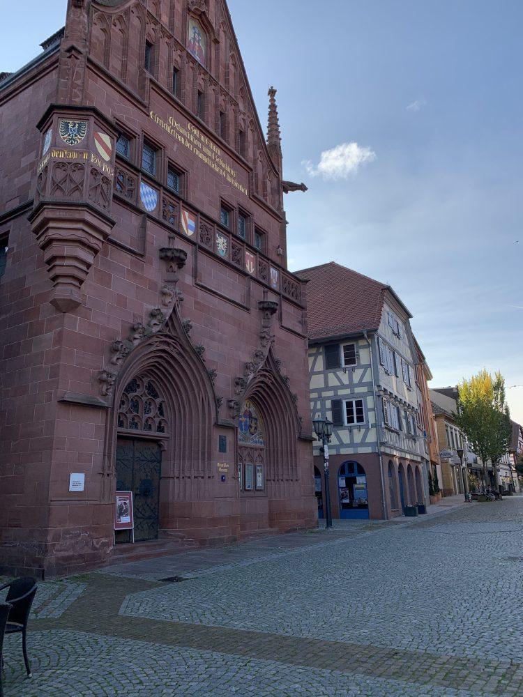 Melanchthonhaus . Bretten . Marktplatz . Philipp Melanchthon . Martin Luther . IsabellaMueller . @Isabella_Muenchen .