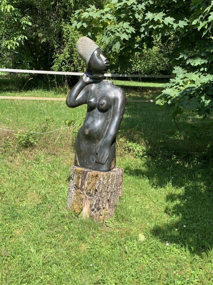 Kunst . Afrika . Afrikanische Skulpturen . IsabellaMueller . @Isabella_Muenchen .