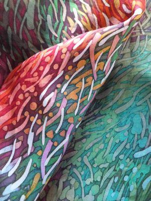 Wax and dye: Australian colours