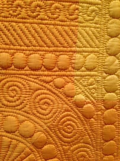 Quilt detail, Welsh Quilt Centre