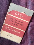 My battered copy of Ethel Mairet's book