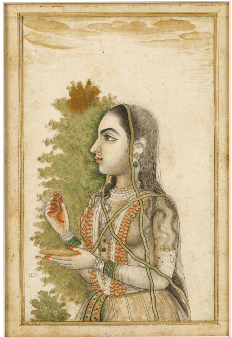 A portrait of a Young Lady, Faizabad, Chiswick,