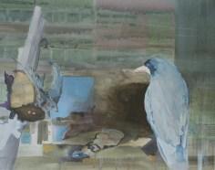 """""""Bonbon"""" acrylique sur toile, 67x52 cm, 2012"""