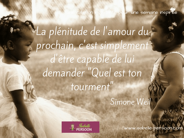 citation Simone Weil
