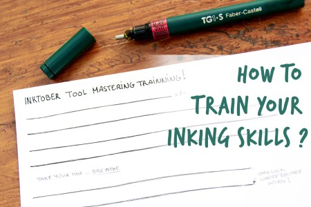 how to train your inking skills