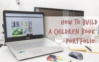 Build a children book portfolio