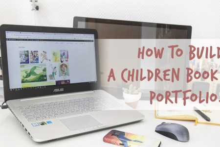 Build a children book portfolio