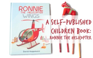 ronnie the helicopter a self published children book by isabelle Arne and Dave Hoppman