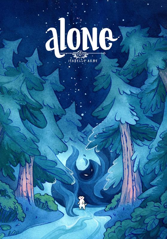 alone mini comic cat witch zine illustration