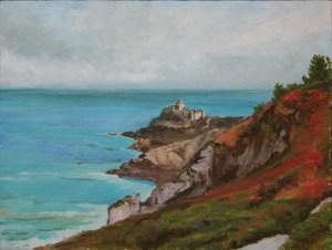 """oil on canvas """"le fort la latte"""""""