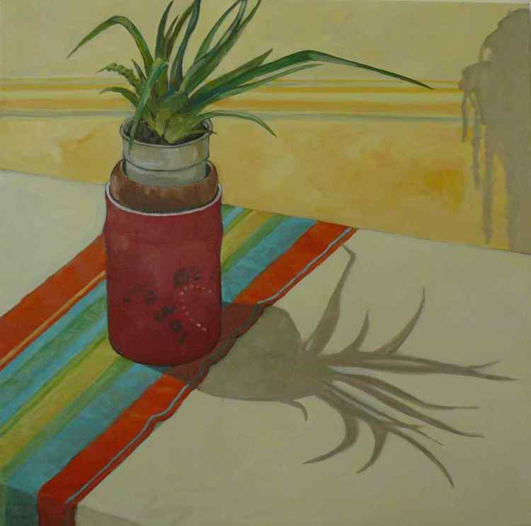 """oil on canvas """"ombres chinoises"""""""