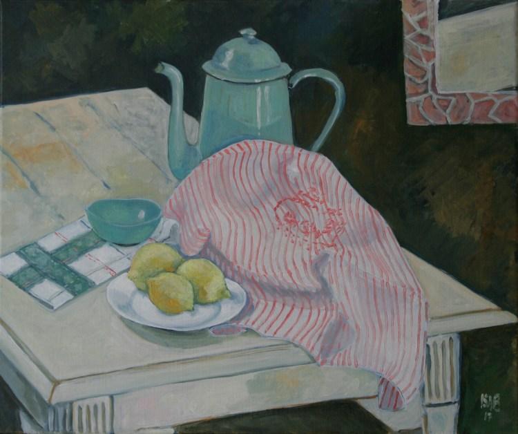 le torchon brodé, Isabelle Barrandon