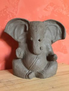 Ganesh en argile