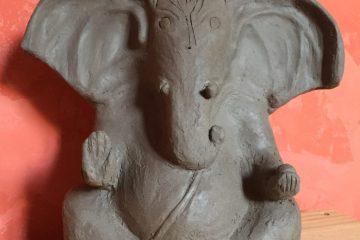 Ganesh, création de Stéphanie