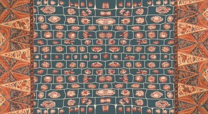 A batik breast cloth, found among Buang's belongings