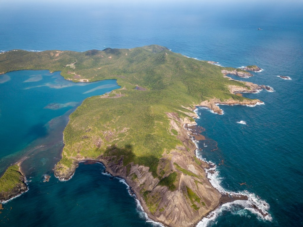 presqu'île de la Caravelle martinique randonnée