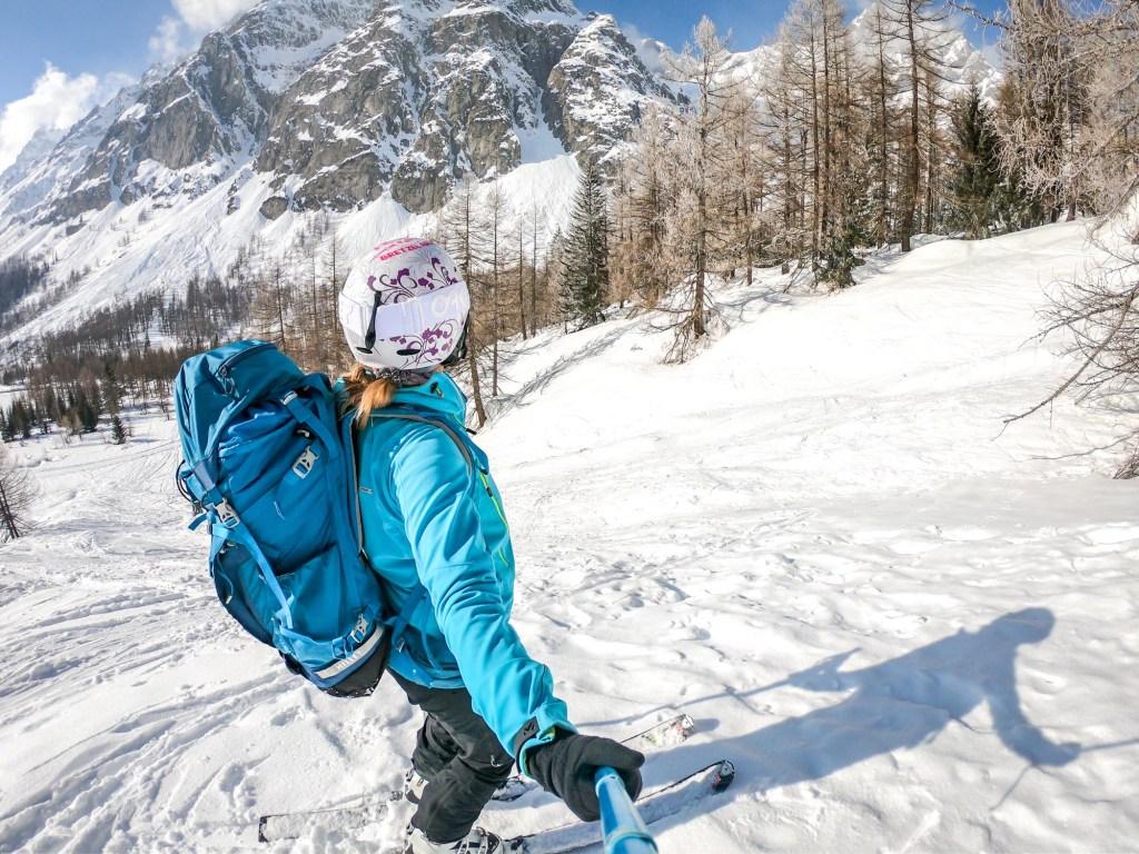 UCPA Ski de randonnée stage val ferret