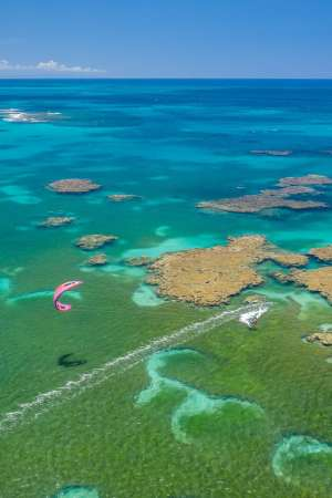 La Terrenas Kitesurf spot Republique Dominicaine