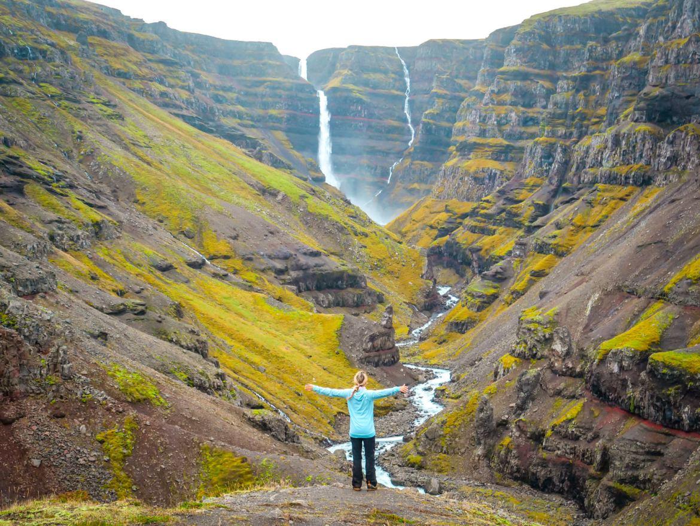 Strutsfoss Islande