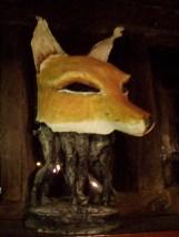 renard masque