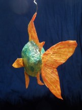 "poisson ""papier maché"""
