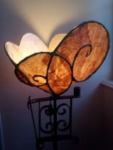 fleur lampe