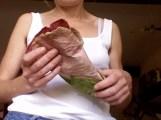 remise en forme , fleur papier de soie
