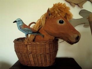 buste poney et rollier