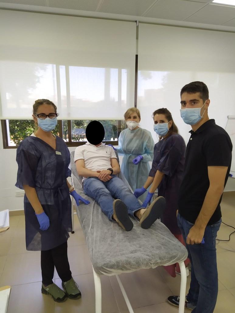 Intensa semana de colaboraciones con las formaciones de Medicina Estética